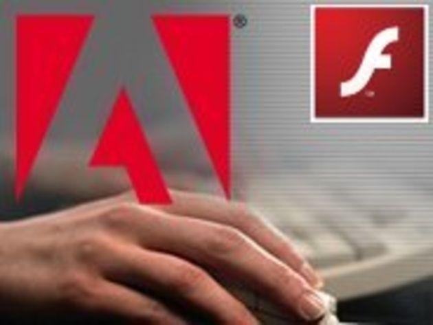 Adobe met en ligne son Flash Player 10
