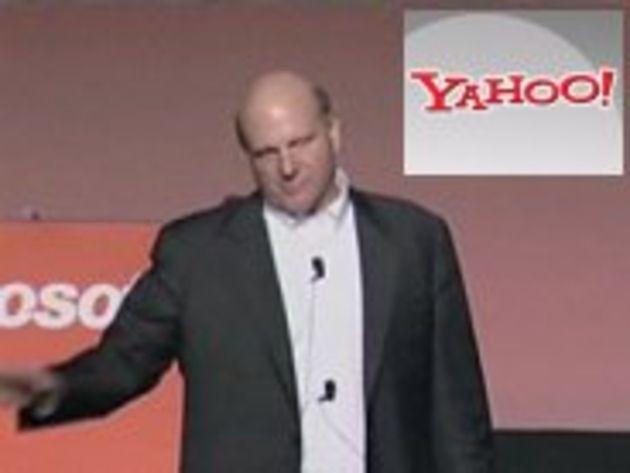 Steve Ballmer n'est plus intéressé par le rachat de Yahoo