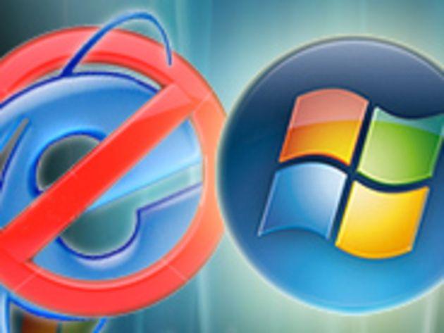 Vente liée : Bruxelles reproche à Microsoft de livrer IE avec Windows