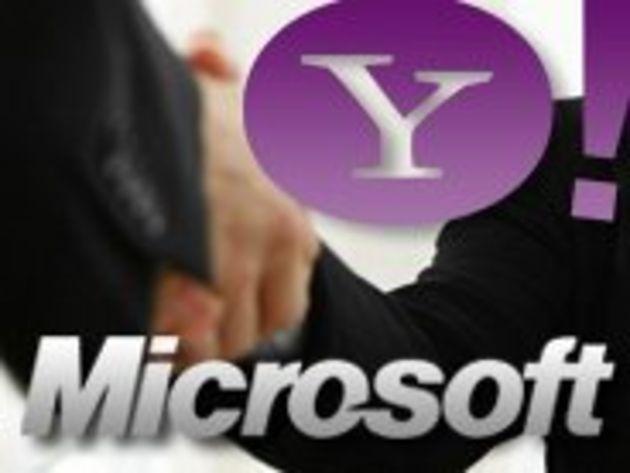 Rencontre au sommet entre Carol Bartz (Yahoo!) et Steve Ballmer (Microsoft)