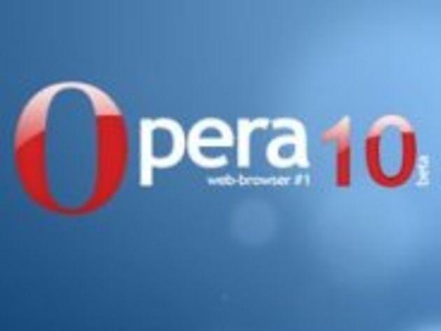 Opera 10 sort en version bêta avec des améliorations
