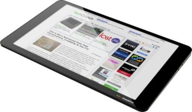 Crunchpad : la tablette PC low-cost sera disponible en novembre
