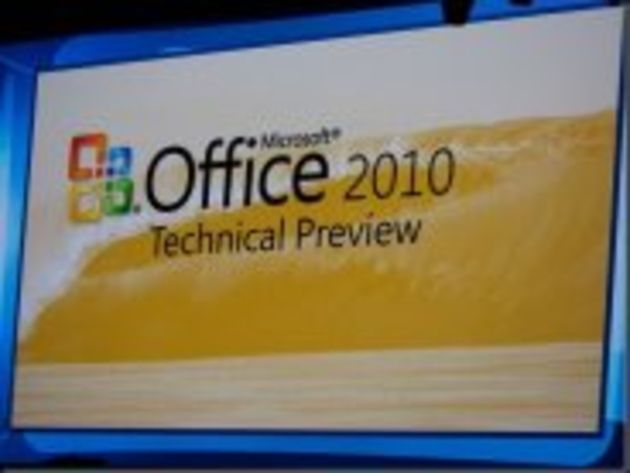 Premières images d'Office 2010 et Office Web Apps