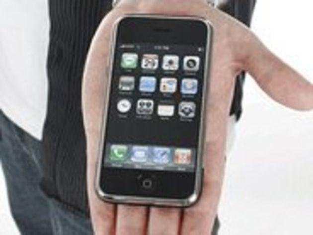 Ecrans fissurés sur l'iPhone :