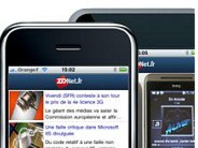 ZDNet.fr lance son application iPhone