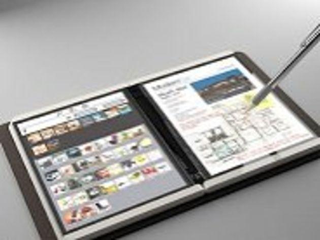 Premières images de Courier, le projet de tablette Internet de Microsoft ?