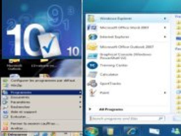 Windows 7 ne fera pas disparaître XP : 10 raisons à cette pérennité