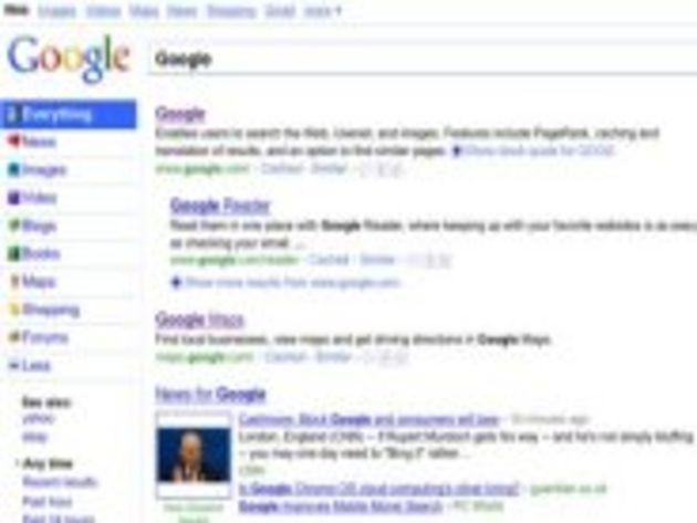 Google rénove l'interface de son moteur de recherche