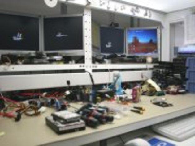Reportage photo : immersion dans un centre de récupération de données