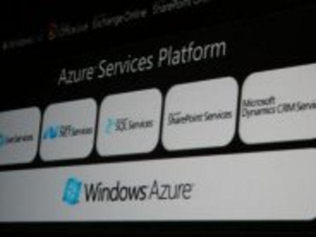 PDC 2009 - Le lancement commercial de Windows Azure débute le 1er janvier