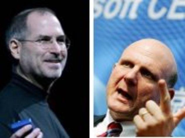 Duels 2009 - Jobs face à Ballmer... la guerre des Steve