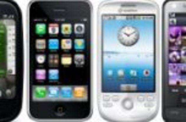 10 smartphones qui ont fait le buzz en 2009