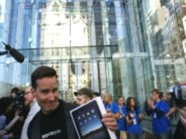 C'est parti, l'iPad est en magasin : les photos du lancement