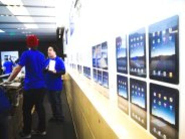 La sortie mondiale de l'iPad est différée à fin mai