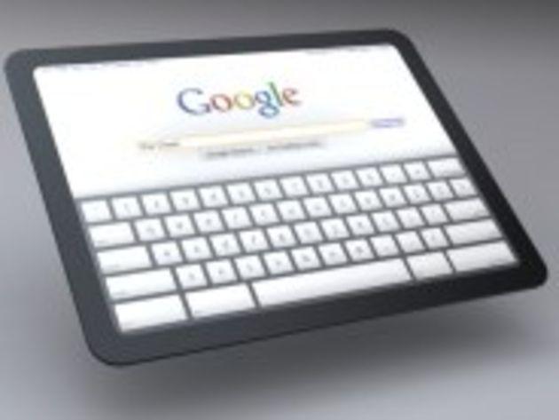 Google préparerait son concurrent à l'iPad, une tablette sous Android