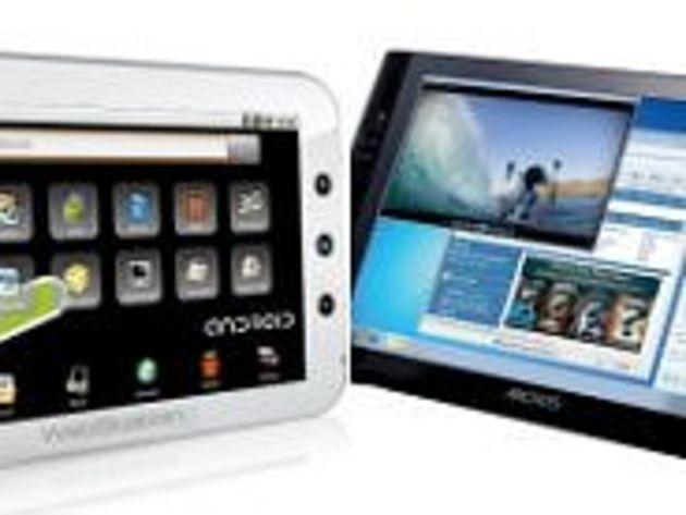 20 tablettes concurrentes de l'iPad, disponibles ou à venir