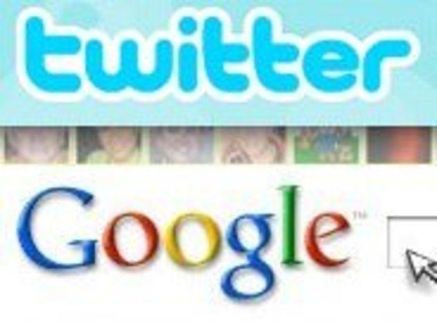 La recherche chronologique dans Twitter disponible sur Google