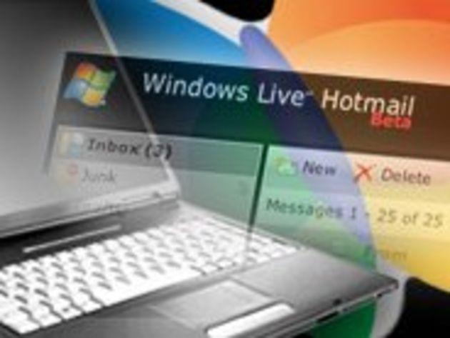 Les nouvelles fonctions d'Hotmail en images