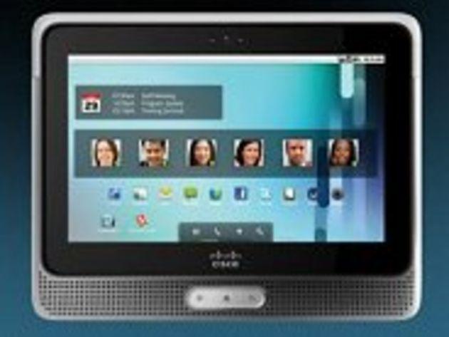 Cius, la tablette Cisco sous Android destinée aux entreprises
