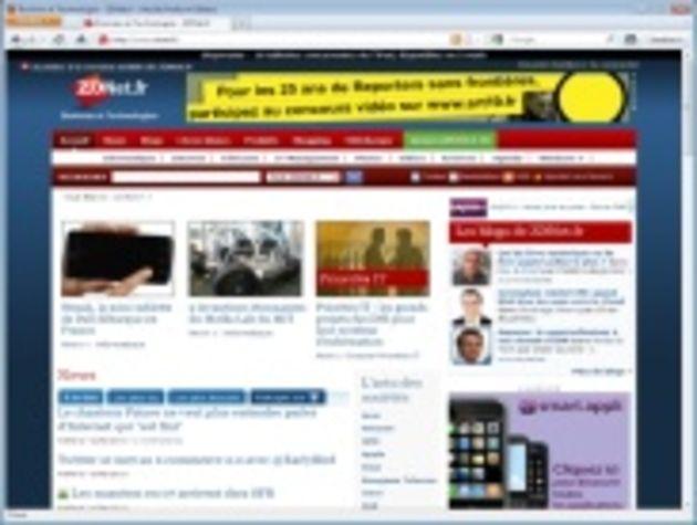 La première bêta de Firefox 4 dévoile sa nouvelle interface