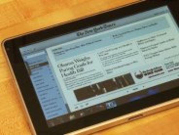 La tablette HP Slate sous Windows 7 refait parler d'elle, puis disparaît encore