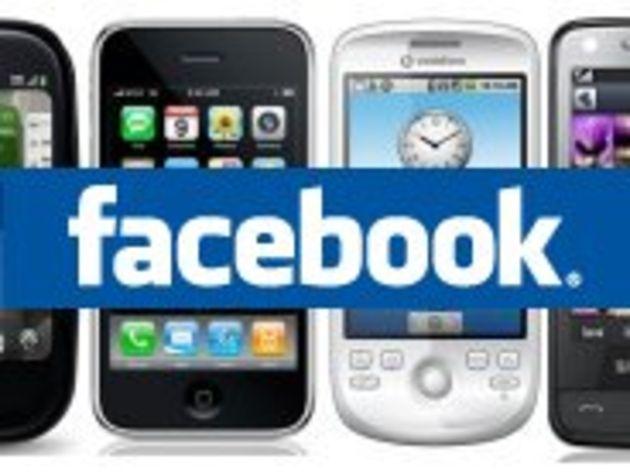 Facebook sur mobiles : l'iPhone en tête devant les BlackBerry et Android