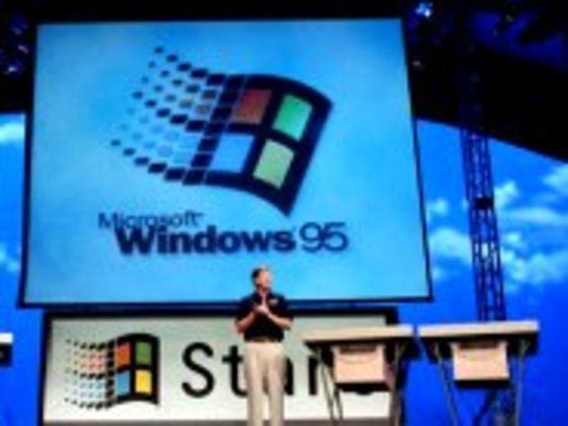 Windows 95, c'était il y a 15 ans déjà : rétrospective en images