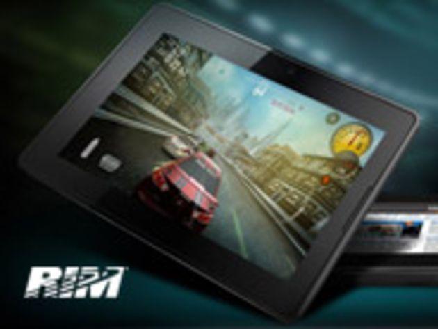 Galerie : les premières images du BlackBerry PlayBook de RIM