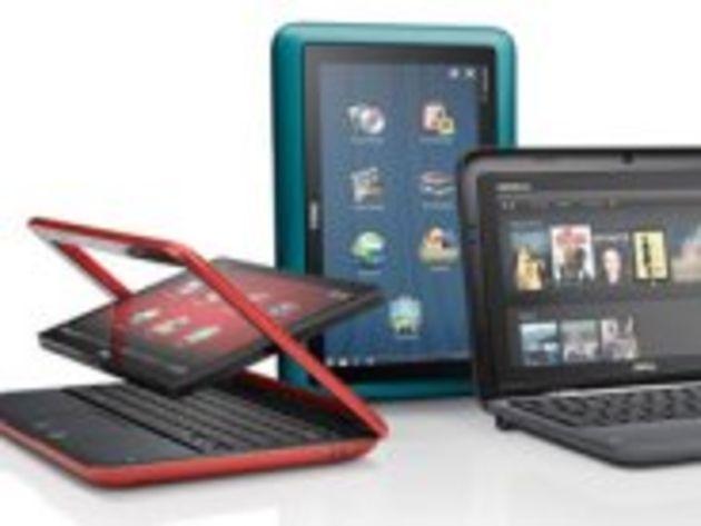 Dell Inspiron Duo sous Windows 7 : à la fois un netbook et une tablette