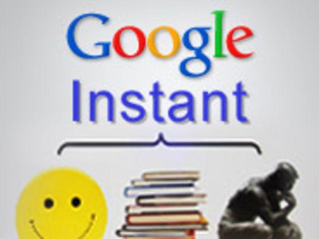Google Instant inaugure les résultats de recherche instantanée