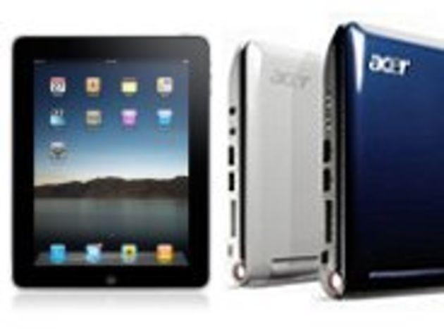 Le marché du PC portable déjà menacé par l'iPad ?