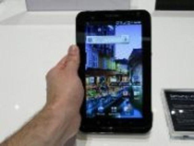 La Galaxy Tab sera disponible fin octobre en France à 699 euros