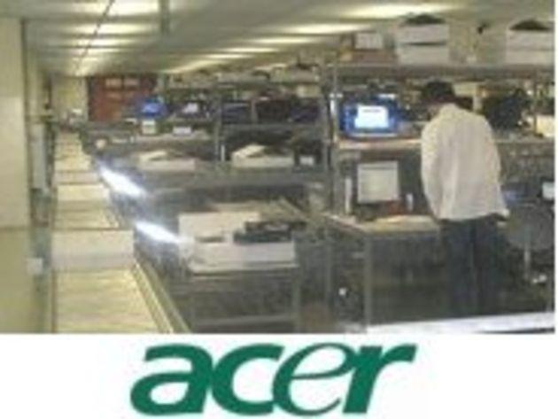 Reportage photo : dans les secrets du nouveau centre de SAV d'Acer