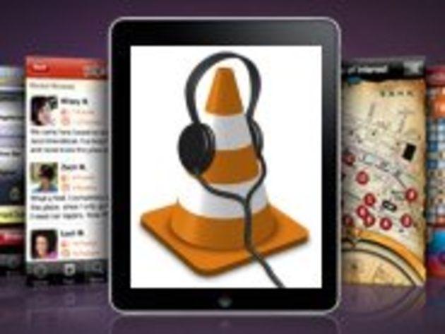 Le lecteur VLC disponible sur l'iPad, en attendant l'iPhone et l'iPod