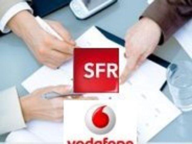 Vodafone serait prêt à sortir de SFR