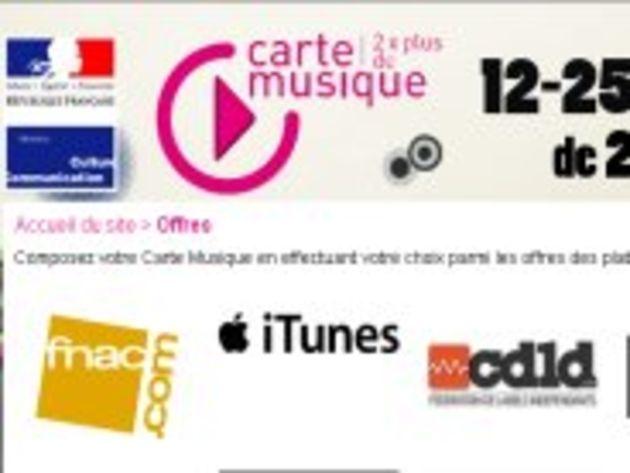 Carte Musique jeune : la bonne opération pour Apple et iTunes