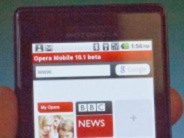 Opera Mobile disponible sur Android d'ici un mois