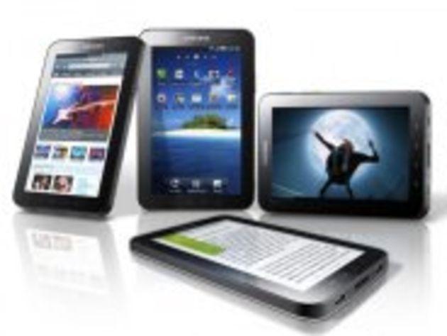 Les opérateurs mobiles préparent leurs forfaits pour la Galaxy Tab de Samsung. Pas donnés...