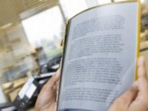 eBook : les premiers écrans flexibles disponibles l'année prochaine ?