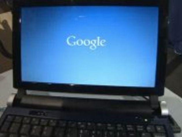 Chrome OS : Google confirme la sortie en décembre d'un netbook à son nom