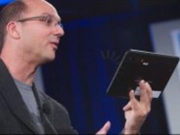 Andy Rubin (Google) dévoile une tablette Android 3.0 signée Motorola