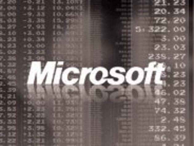 Résultats : Microsoft sauve son trimestre grâce au Kinect et aux demandes des entreprises