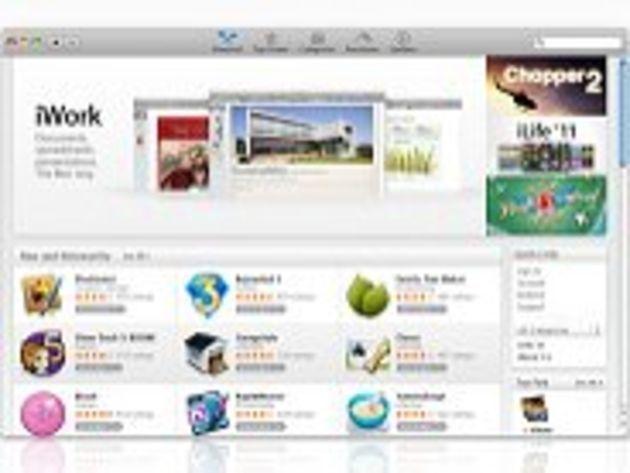 Apple : le Mac App Store ouvre avec plus de 1000 applications