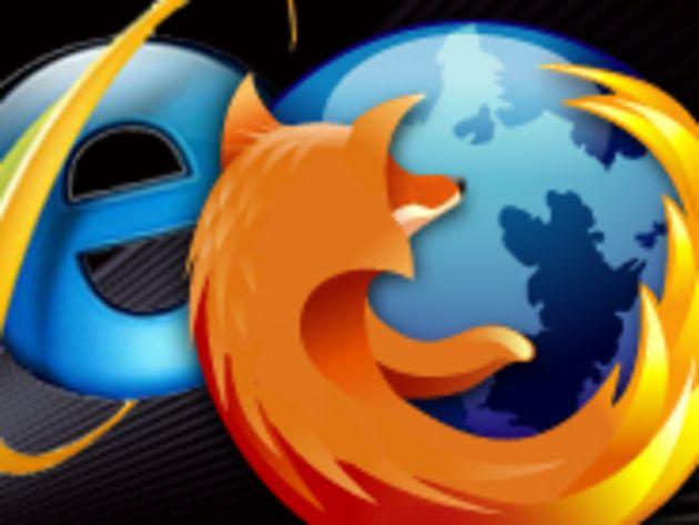 Téléchargements : Firefox 4 fait deux fois mieux qu'Internet Explorer 9