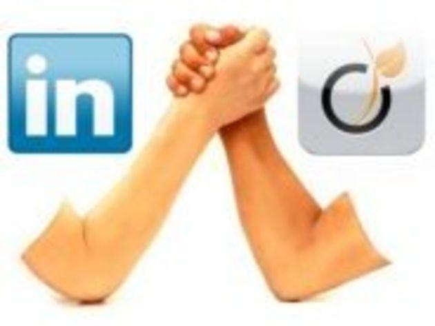 LinkedIn contre Viadeo : fonctions similaires, stratégies différentes