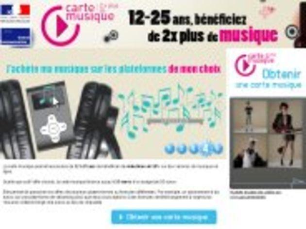 Le gouvernement tente de redonner vie à la Carte Musique Jeune grâce à un nouveau site Web