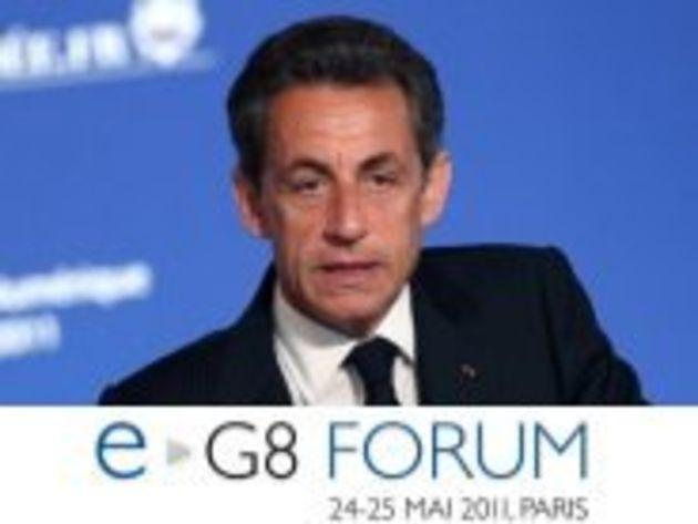 A l'e-G8, Nicolas Sarkozy défend la place des gouvernements dans l'Internet