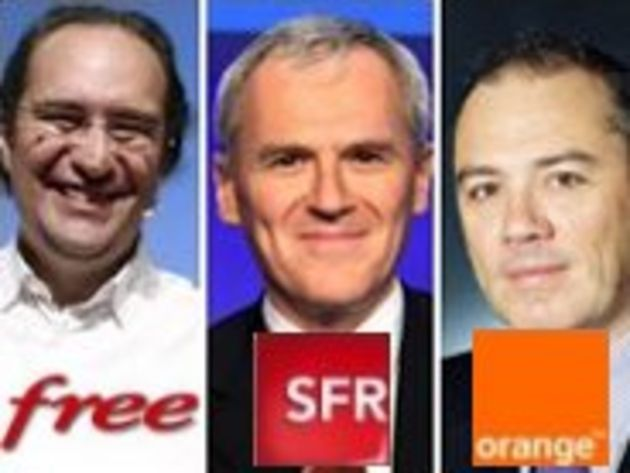 Pour les patrons d'Orange et de SFR, la régulation bride la croissance. Pas pour Free