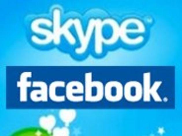 Facebook : un service de chat vidéo signé Skype ?
