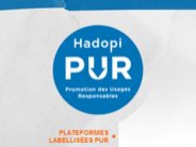 Labels PUR : la Hadopi manque son objectif de 40 sites labellisés